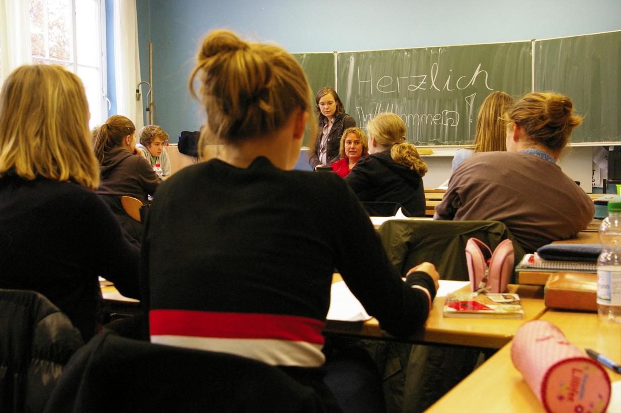 Kerstin Tack in der Ricarda-Huch-Schule 2